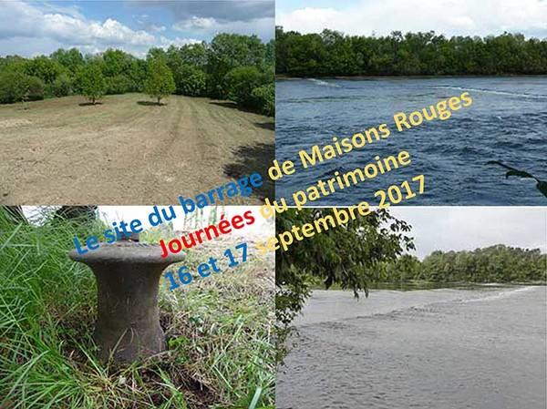 Journées du patrimoine 2017 - Ouverture du site du barrage, histoire et commentaires