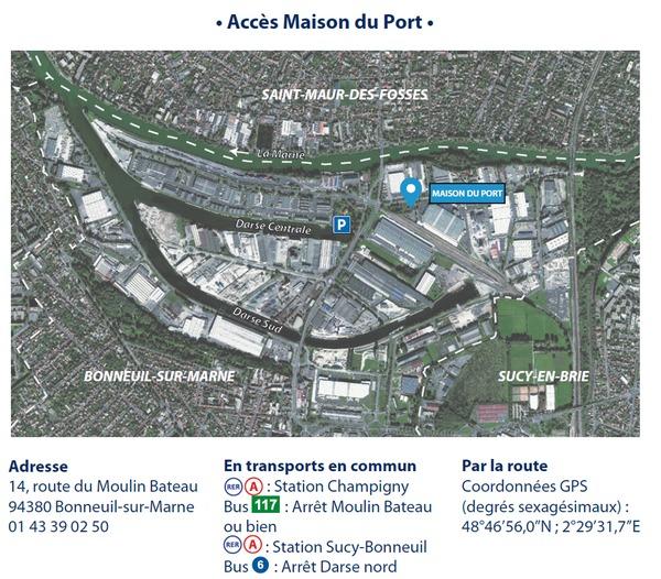 Journées du patrimoine 2018 - Inauguration de la Maison du Port de Bonneuil-sur-Marne / croisières et animations