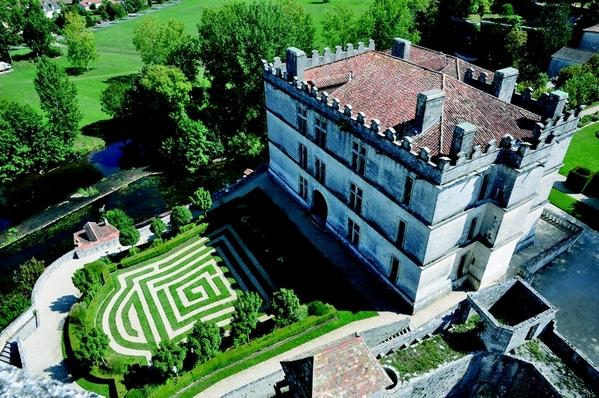 Crédits image : Le château Renaissance © Semitour Périgord