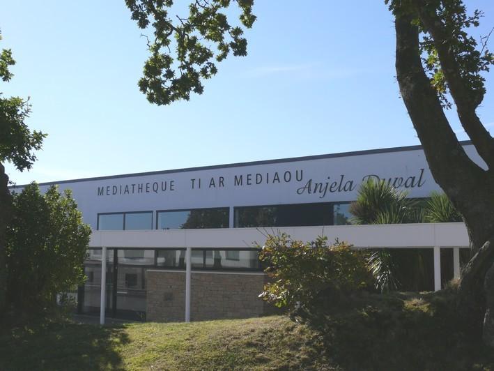 Médiathèque Anjela Duval