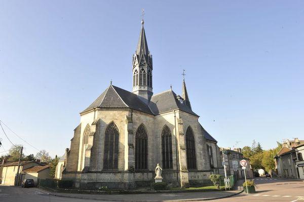 Crédits image : Eclaron - Eglise © Ville de St-Dizier/Service communication