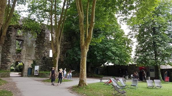 Crédits image : Parc du Château de Rochefort en Terre