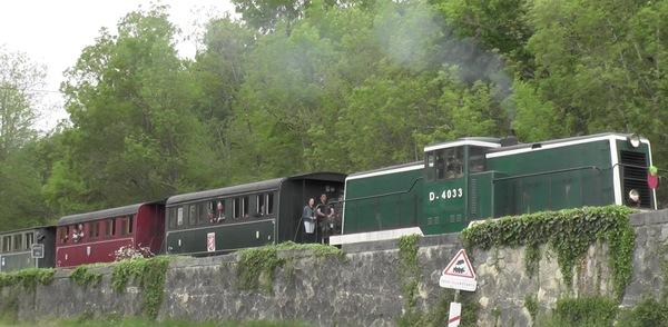 Crédits image : © Train Touristique Guîtres-Marcenais