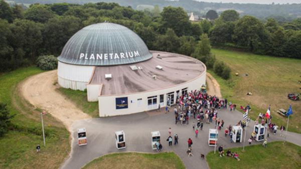 Crédits image : @Planetarium de Bretagne