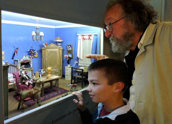 Journées du patrimoine 2017 - Miniatures de la maison au jardin