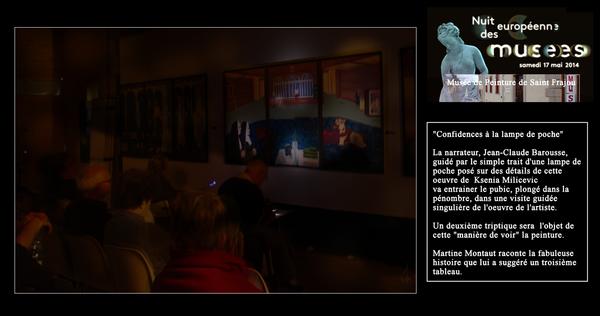 Nuit des musées 2019 -Musée de peinture de Saint-Frajou