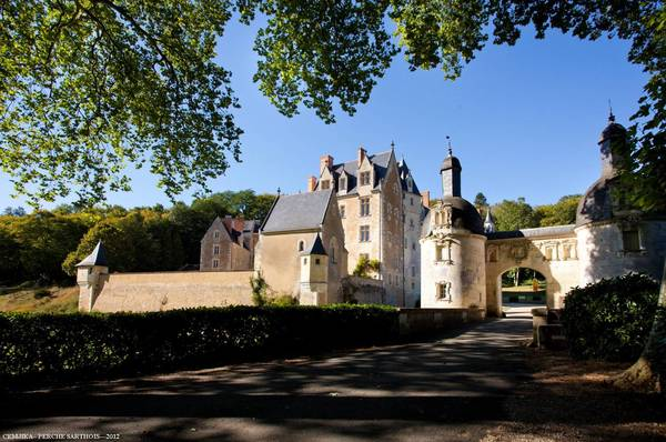 Journées du patrimoine 2018 - Château de Courtanvaux