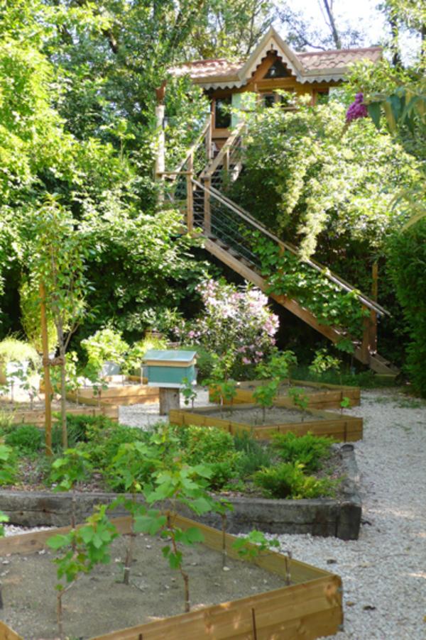 Rendez Vous aux Jardins 2018 -Jardin Racines carrées du Pavillon vert