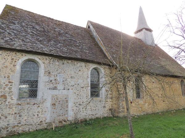 Journées du patrimoine 2018 - Visite libre de l'église Saint-Cyr Sainte-Juliette de Pierre Ronde