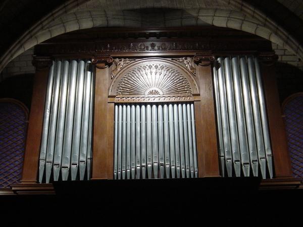 Crédits image : Façade de l'orgue © Gérard DECOCK