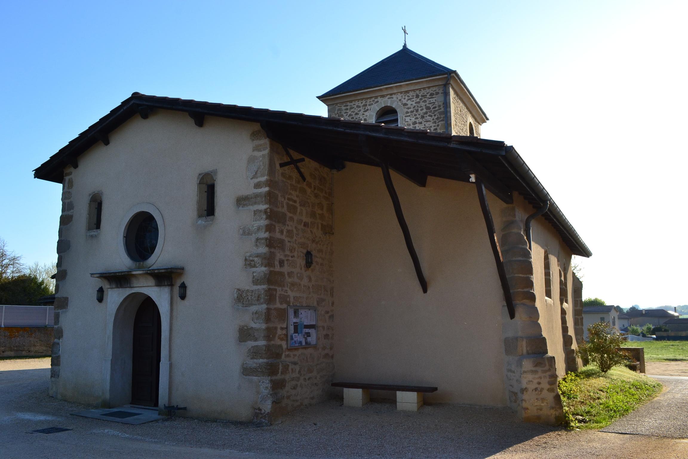 Église romane de Chavannes