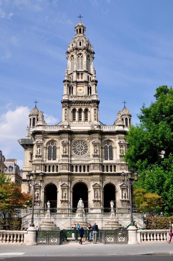 Journées du patrimoine 2018 - Conférence sur le chantier de l'église de la Trinité
