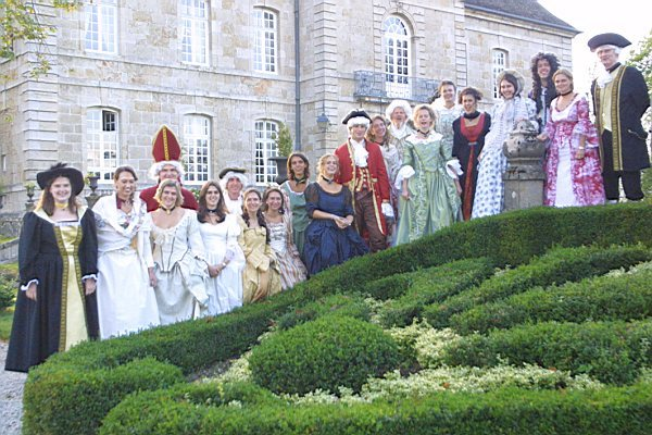Journées du patrimoine 2018 - Visite commentée et animation en costumes du XVIIIème siècle