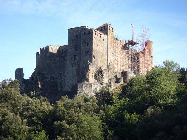 Crédits image : château de Ventadour