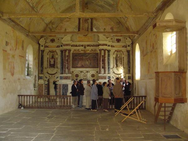 Journées du patrimoine 2019 - Visites guidées de l'église du Vieux-Bourg et de ses peintures murales