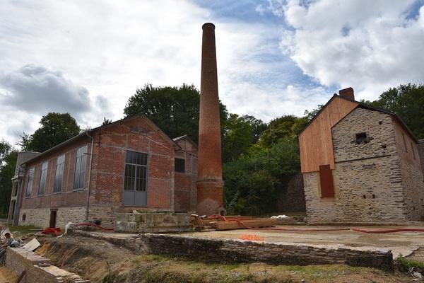 Journées du patrimoine 2018 - Découverte de l'ancienne usine de fabrication de chaux de Lormandière, par des visites accompagnées.