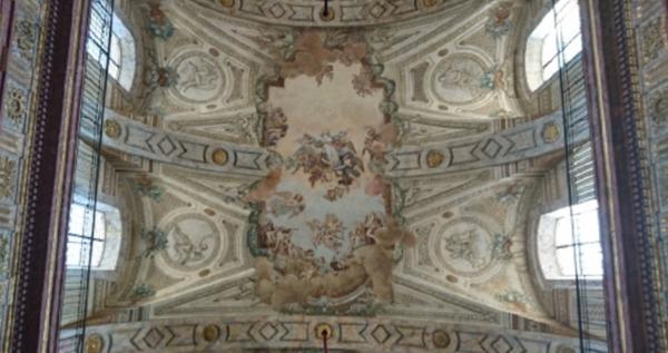Crédits image : Voûte de l'église Notre-Dame de Bonsecours - (c) PDLML