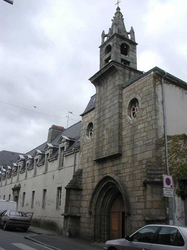 Crédits image : Chapelle Sainte-Hélène [© Ville d'Auray]