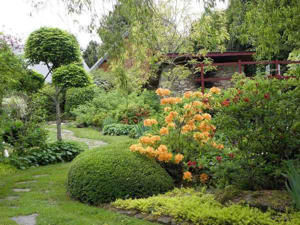 Crédits image : Jardin d'Arsac, jardin japonais © G. Serve