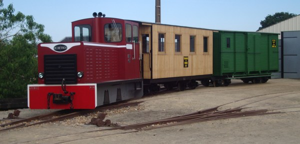 Journées du patrimoine 2017 - Dépôt de locomotives et de matériel ferroviaire à voie étroite