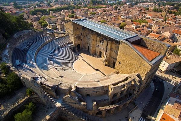 Journées du patrimoine 2017 - Découverte du Théâtre Antique d'Orange (1er siècle)