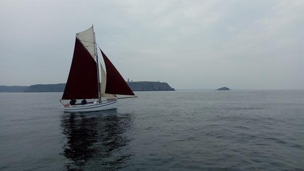 Journées du patrimoine 2018 - Présentation et courte navigation sur le cotre maquereautier, Le Rigel,  navire classé monument historique