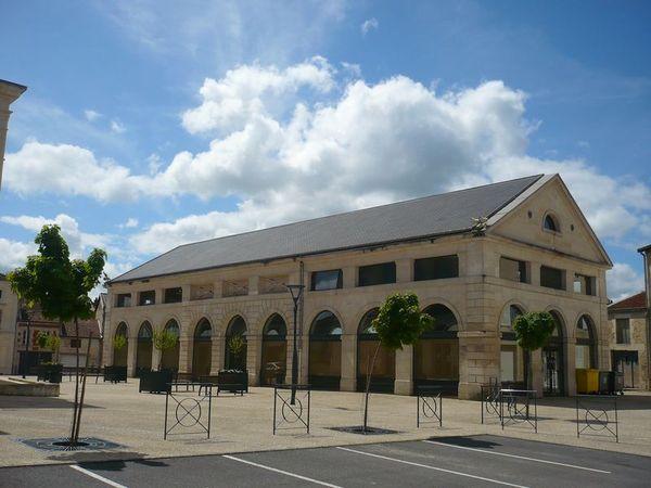 Crédits image : Wassy - Les Halles © Office de tourisme Saint-Dizier Der et Blaise