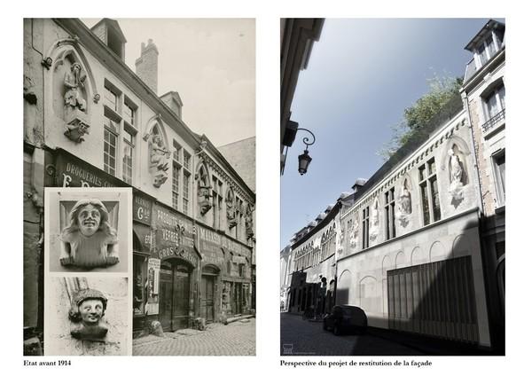 Crédits image : BM Reims / BLP architectes