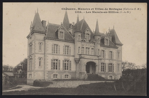 Crédits image : ancienne carte postale du château