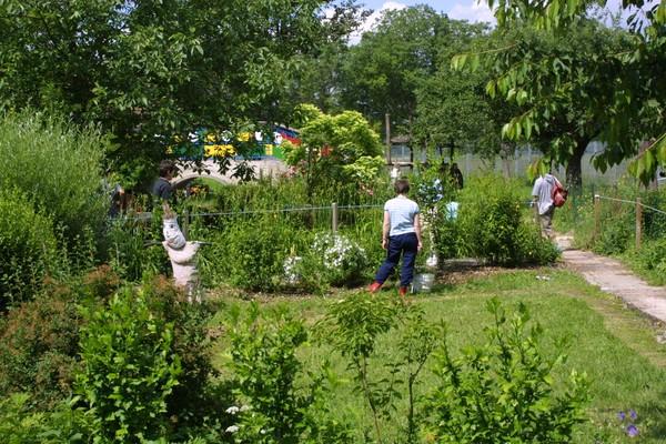 Rendez Vous aux Jardins 2018 -Jardin sensoriel du site du neuhof