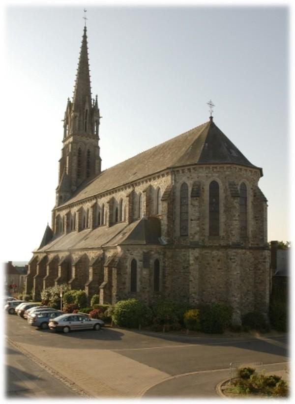 Crédits image : Eglise / Saint Aubin d'Aubigné