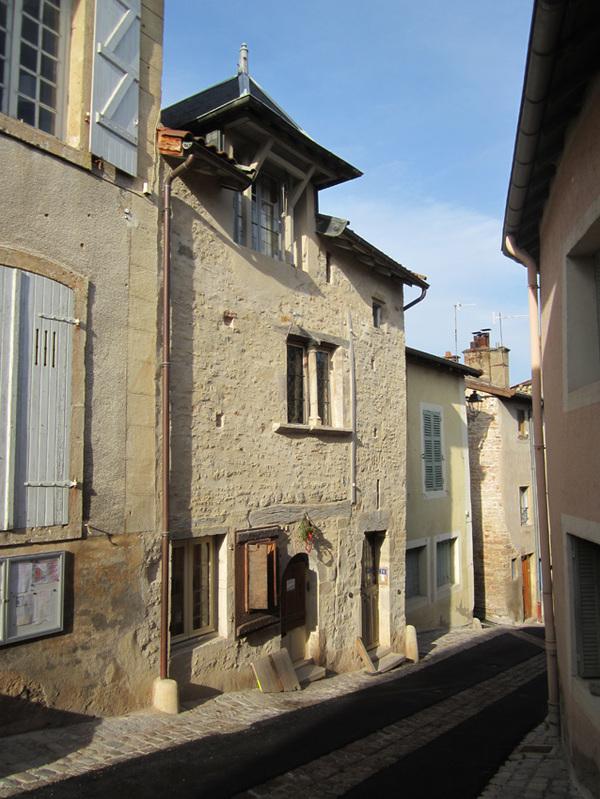 Journées du patrimoine 2017 - Maison basse des Échevins à Cluny
