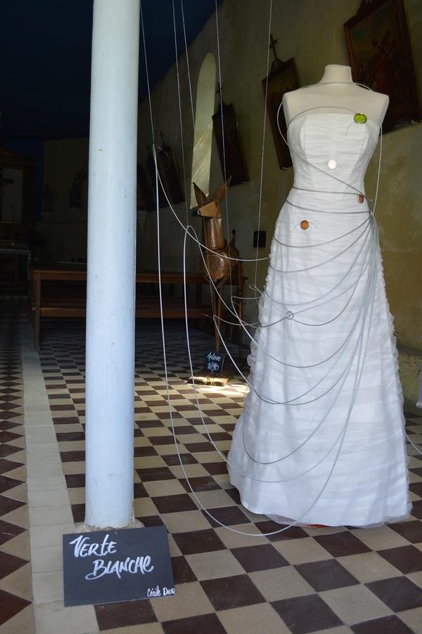 Crédits image : Un des œuvres du Champsboult'ou dans l'église - Estelle Coppin
