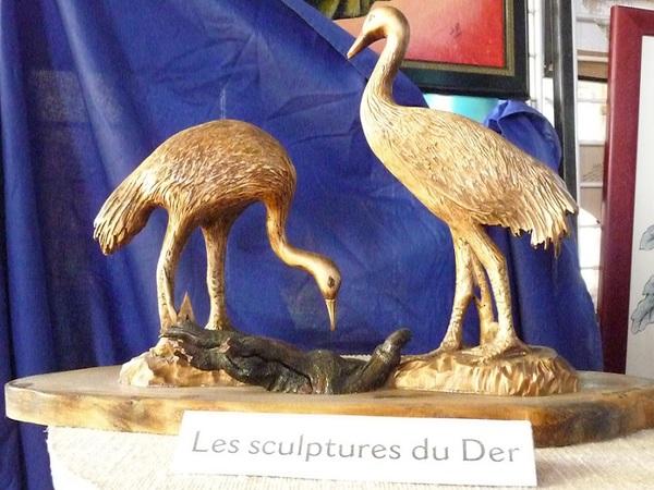 Crédits image : Les sculptures du Der - JP Surugue
