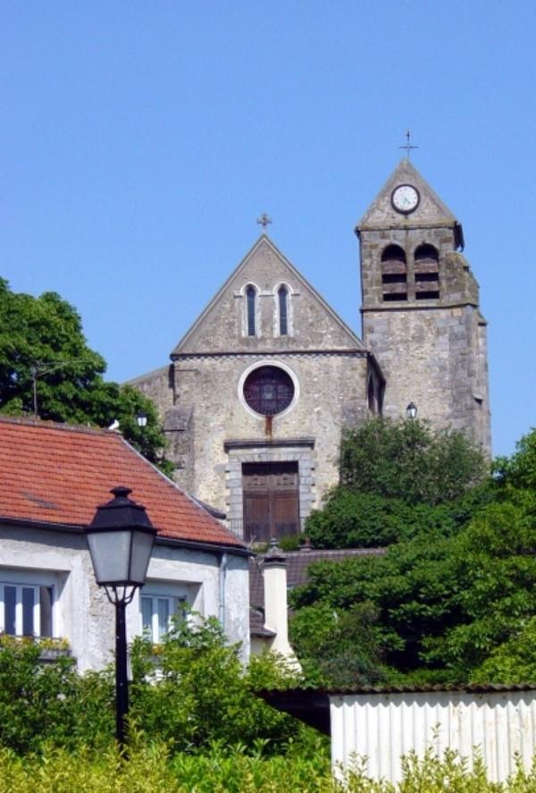 Journées du patrimoine 2018 - Église Saint-Rigomer et Sainte-Ténestine de Vauhallan - Diocèse d'Évry