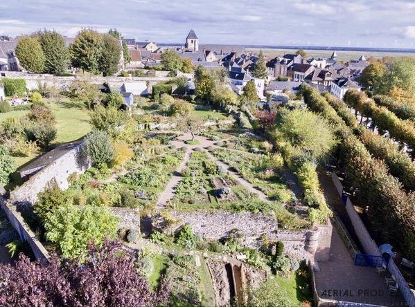 Rendez Vous aux Jardins 2018 -Les jardins de la Baie de Somme: herbarium, fruticetum, rues fleuries