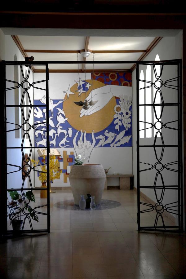 Crédits image : Baptistère © Paroisse de Sainte-Marie de Colmar