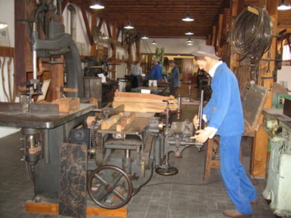 Crédits image : © Musée de la machine à bois
