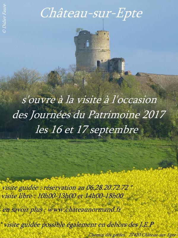 Journées du patrimoine 2017 - Visite libre et ouverture exceptionnelle d'une forteresse normande oubliée !