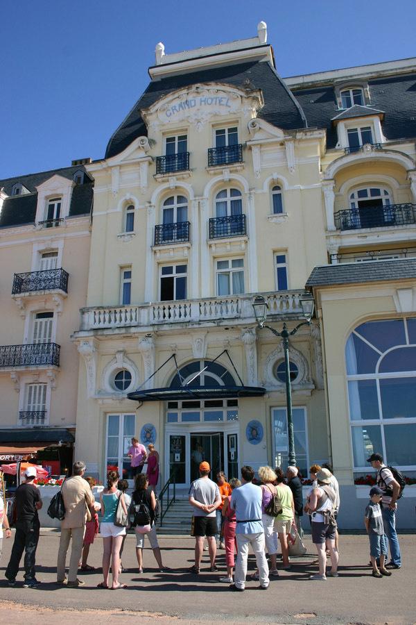 Journées du patrimoine 2017 - Promenade à la découverte des courant architecturaux de Cabourg