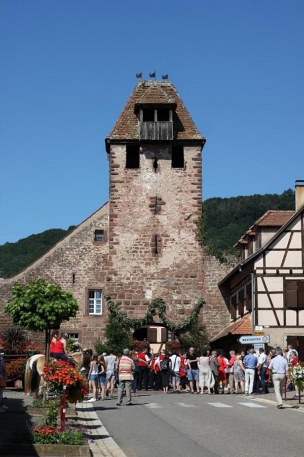Crédits image : Porte d'entrée de Wangen - Tour Niedertor - Christine Jung