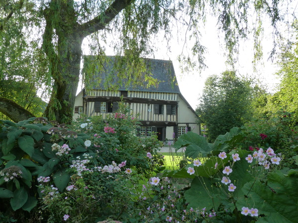 Jardin du prieuré de saint-arnoult