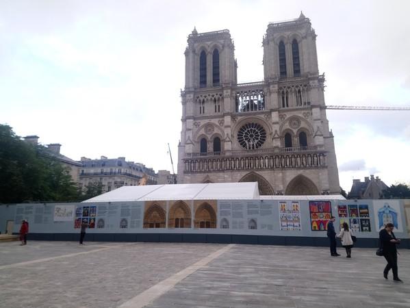 Crédits image : Brieuc Clerc / Etablissement public chargé de la conservation et de la restauration de la cathédrale Notre-Dame de Paris