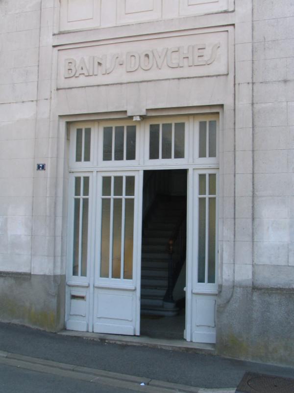 Crédits image : Bains - Douches © Service de l'architecture et des patrimoines de Thouars.
