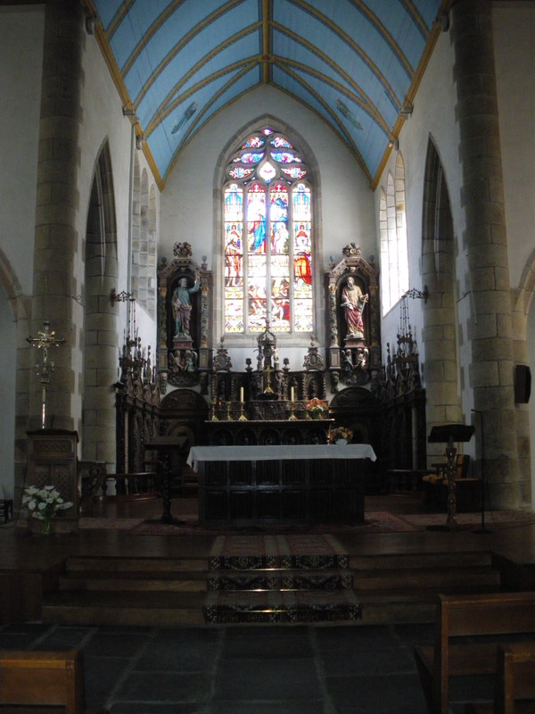 Journées du patrimoine 2018 - Histoire et curiosités de l'église Saint Pierre de Plouvorn