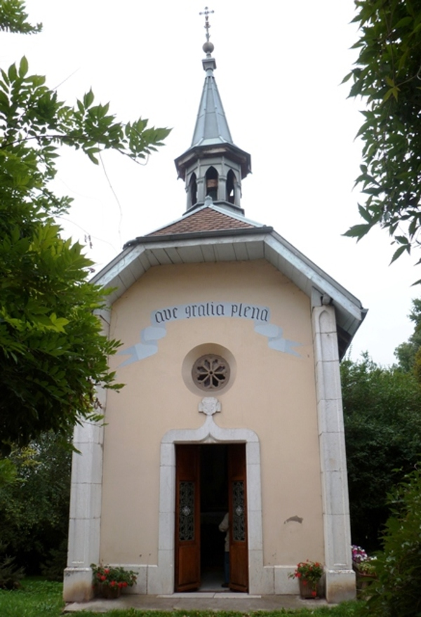 Journées du patrimoine 2017 - La chapelle de Frontenex d'Annecy-le-Vieux