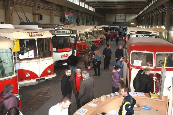 Journées du patrimoine 2017 - visite du musée l'Histo Bus Dauphinois