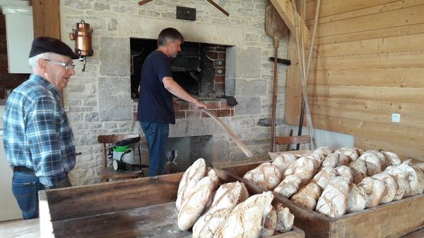 Journées du patrimoine 2018 - Patrimoine, pain, pomme, pierre