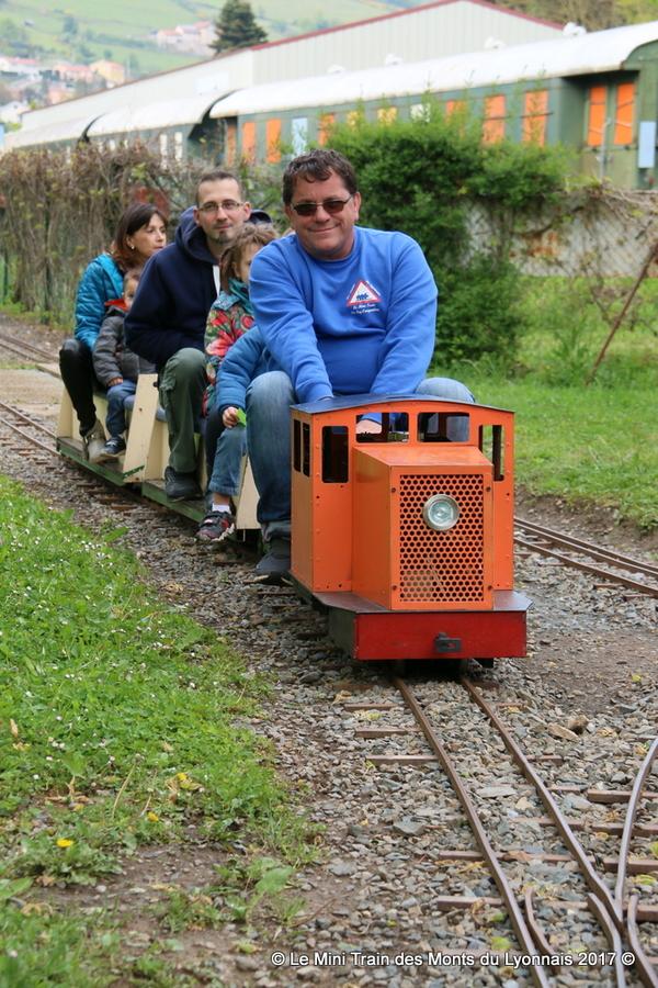 Crédits image : Le Mini Train des Monts du Lyonnais